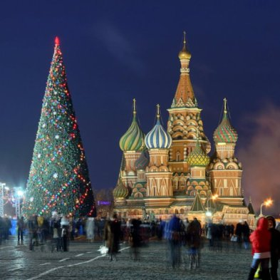 the word christmas in russian